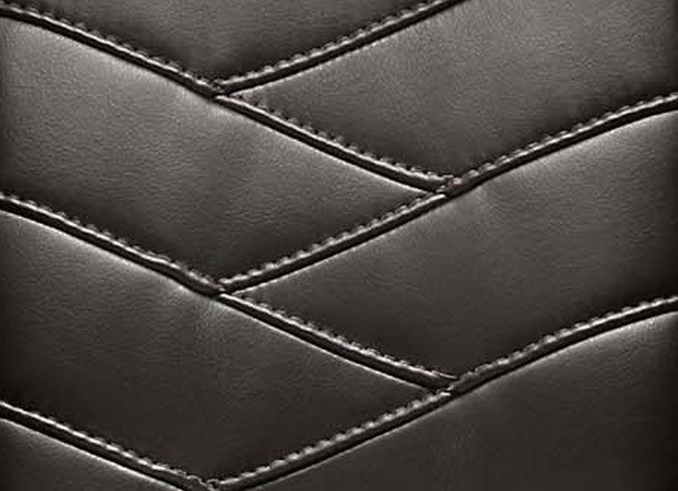 Herringbone Leather Inset | Staples | Hazz Design