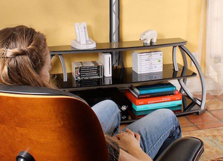 reVue TV Stand & Adjustable Mount   Hazz Design