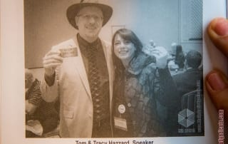 Tom Hazzard, Tracy Hazzard featured in Ken Rochon Book